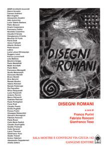 Locandina mostra Disegni romani 2012