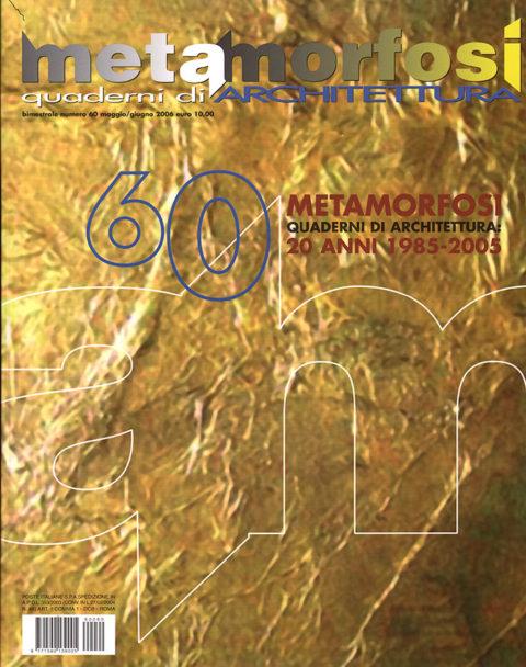 Metamorfosi 60 - Copertina