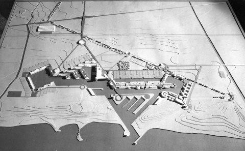 Progetto per un porto ed un insediamento a Montetosto